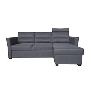 Canapé d'angle convertible et réversible  tissu Félix