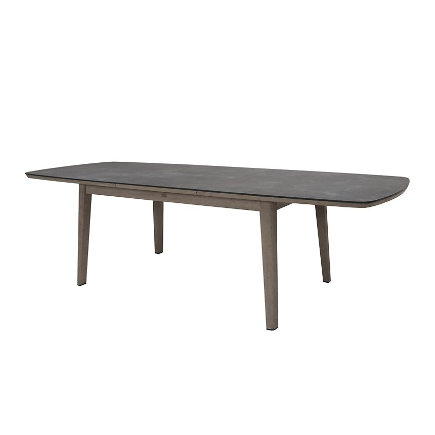 Table extensible Copenhague teck 200/280X105 CM SEL LES JARDINS