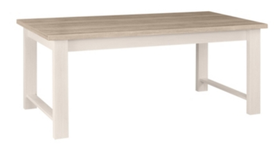 Table rectangulaire Glam
