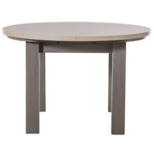 Table ronde Glam, chêne baroque