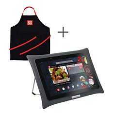 Tablette QOOQ ULTIMATE grise + tablier
