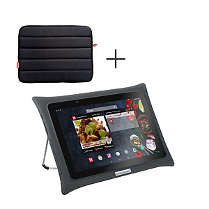 Tablette QOOQ Ultimate grise + housse
