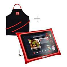 Tablette QOOQ ULTIMATE rouge + tablier