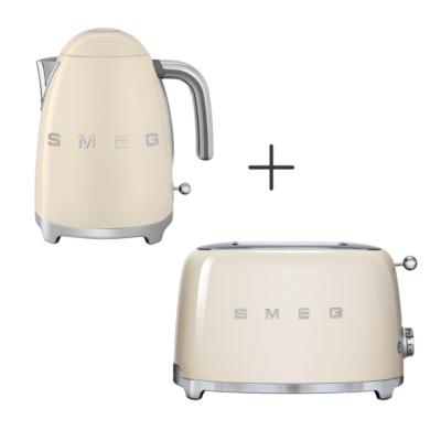 Toaster 2 tranches + Bouilloire 1.7 L cr