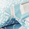 Parure de lit satin Chareau Azure  DESIGNERS GUILD
