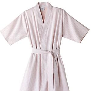 Peignoir Kimono satin Mythique BLANC  DES VOSGES, Pétale