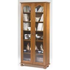 Bibliothèque Cluzel 2 portes, chêne