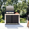 Meuble de cuisine pour plancha 120 X 60 cm FELIX INOX