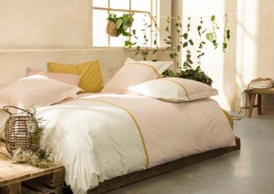 Parure de lit percale Toi et Moi Occitan  ESSIX