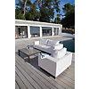 Fauteuil EGIO Alu/Toile sunbrella Blanc  Océo