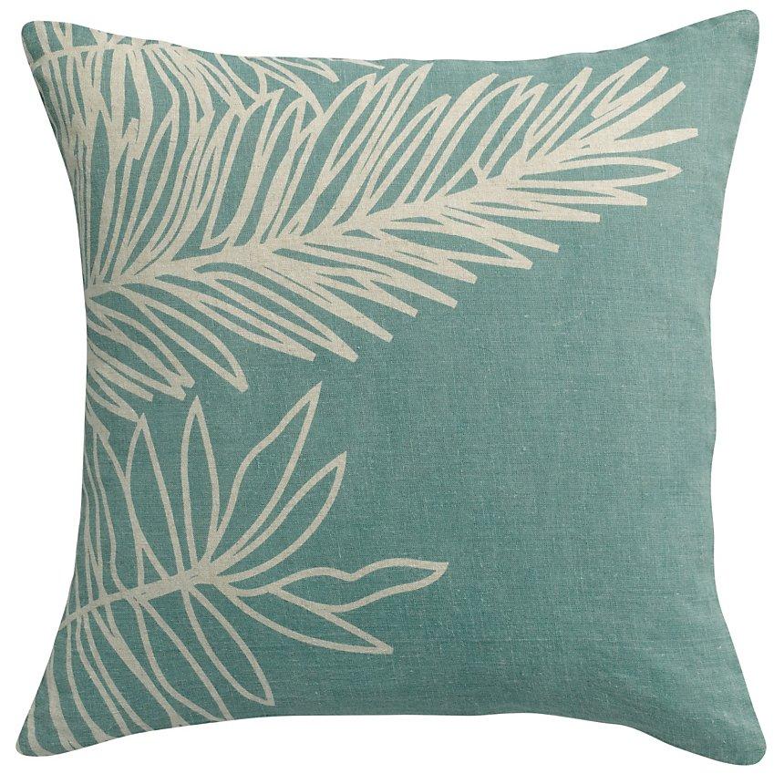 Coussin lin Zeff Palm VIVARAISE