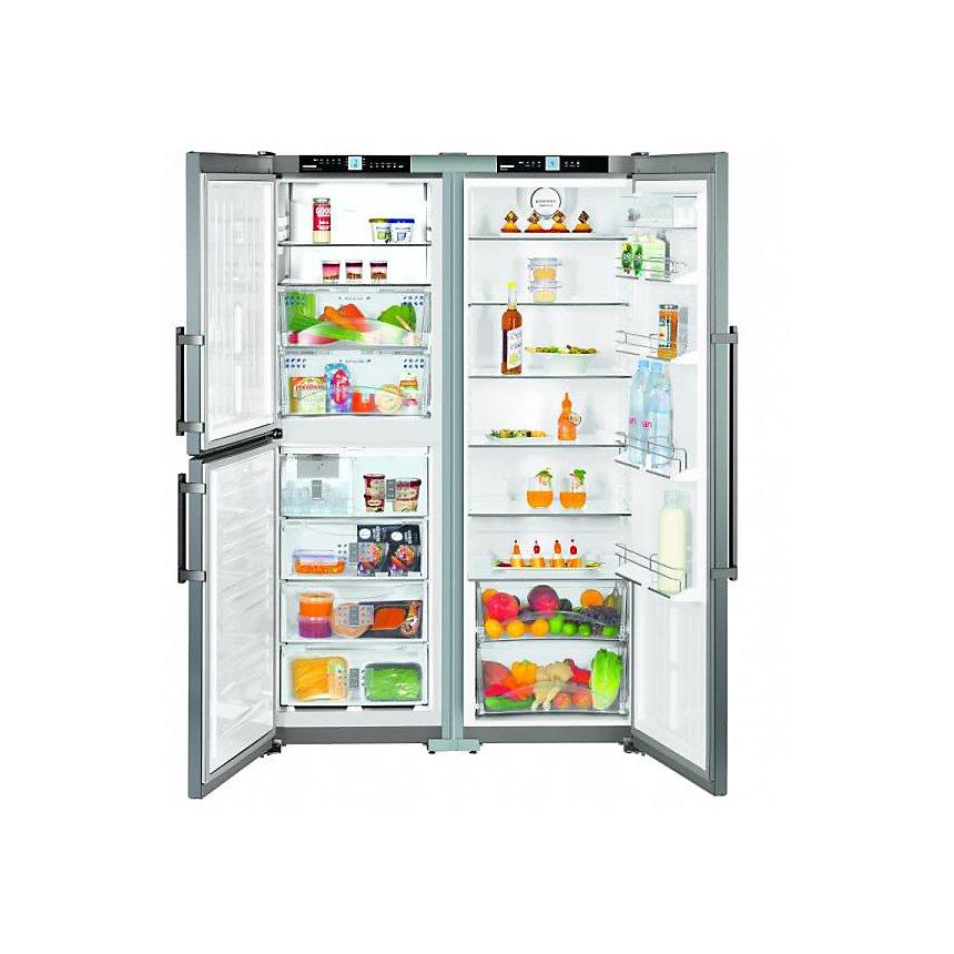 Réfrigérateur américan garanti 5 ans SBSEF7343 LIEBHERR