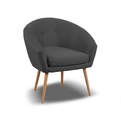 fauteuil tissu coton mojito 2 - Fauteuil En Tissu