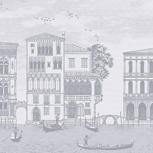 Lot de 4 serviettes de table Veneziano  GARNIER THIEBAUT