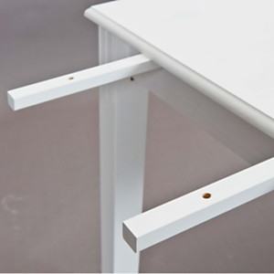 Allonge de table Inata, blanc