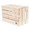 Table basse bois originale 6 niches de rangement