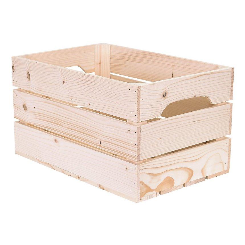 Table basse bois originale 4 niches de rangement