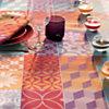 Nappe Mille Tiles GARNIER THIEBAUT,  carrée
