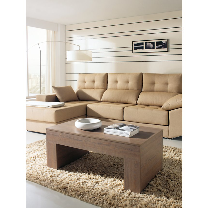 Table basse relevable porte bouteille  Gauvin