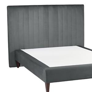 Tête de lit velours Bérénice