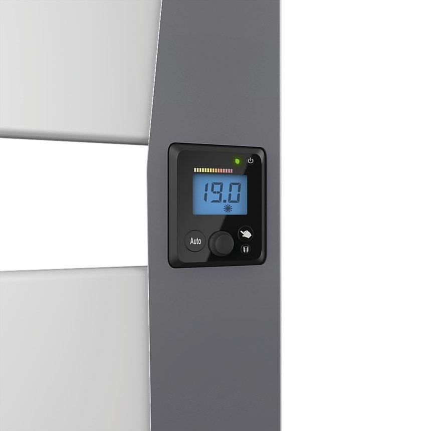 Radiateur sèche-serviettes Corsica 2 à technologie sans fluide NOIROT blanc