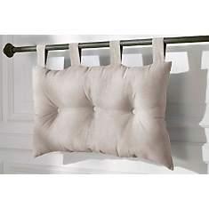 Tête de lit capitonnée lin