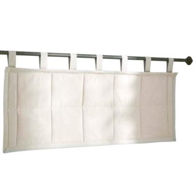 Tête de lit matelassée écrue