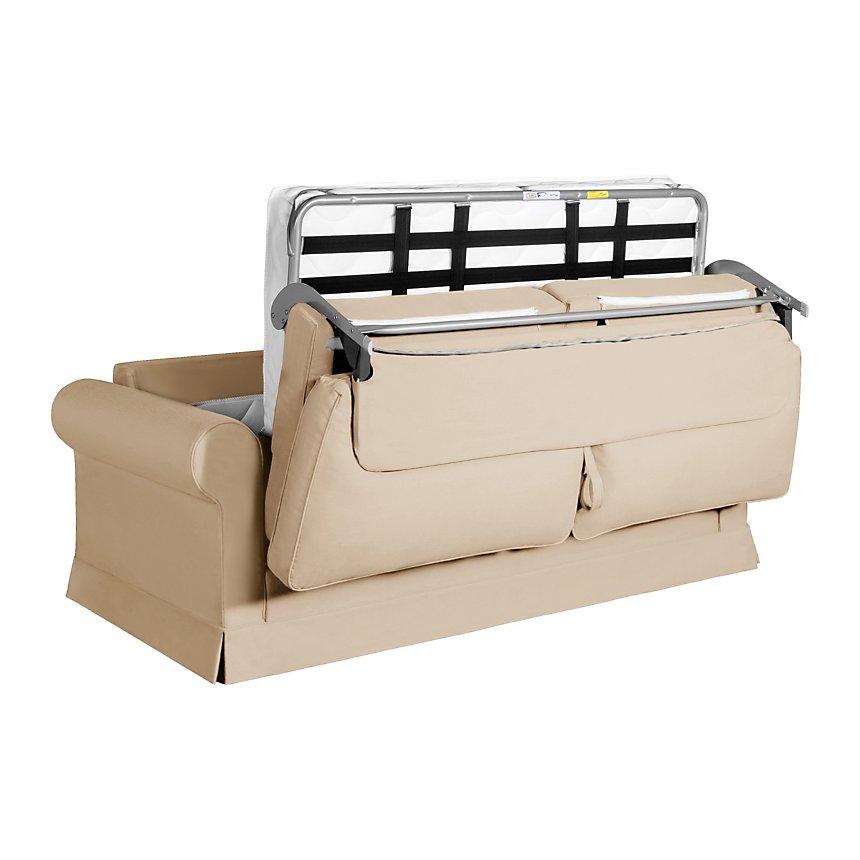 Canapé convertible tissu coton déhoussable Naxos