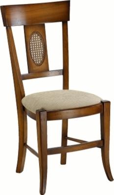 Lot de 2 chaises Cassonade tissu