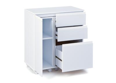 Bureau compact igor for Bureau meuble camif
