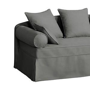 Dosseret tissu coton Hermitage, Coton  gris