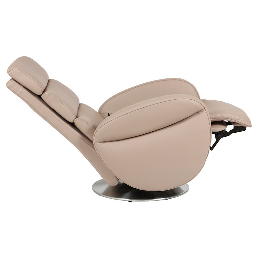 Fauteuil relax pivotant cuir Barizey