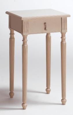 Chevet 1 tiroir Louis XVI mastic