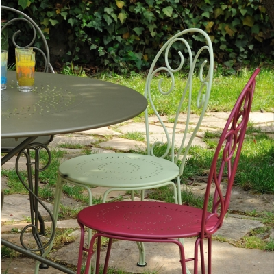 Lot de 2 Chaises empilables FERMOB Montmartre