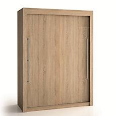 Armoire 2 portes bois H200 cm De...