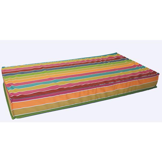 matelas sommier tapissier ensemble alicante strech blanc l 140 x h 35 x p 190 matelas de sol. Black Bedroom Furniture Sets. Home Design Ideas