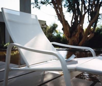 Deck chair FERMOB Alizé avec  repose pieds