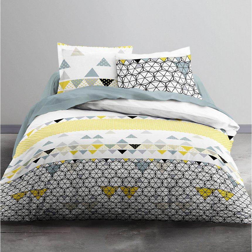 Parure de lit zippée Amétrine MAWIRA