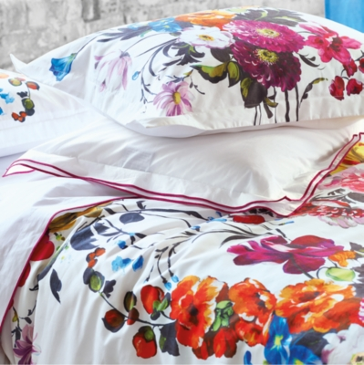 Housse de couette percale amrapali peony designers guild - Housse de couette designer guild ...