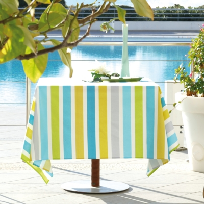 Nappe anti taches Andernos Turquoise