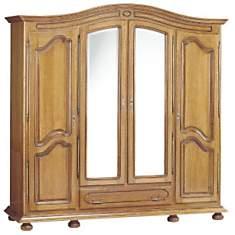 Armoire 4 portes 1 tiroir Isidore