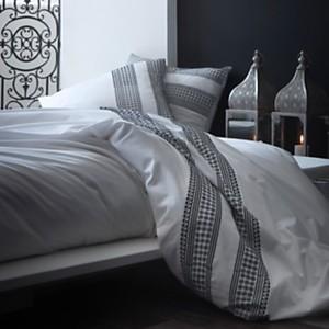 Parure de lit percale brodée Artois  LAB