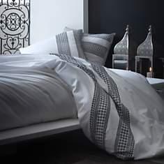 Parure de lit percale brodée Artois  LAB...