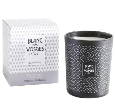 Bougie parfumée naturelle Pluie Céleste  BLANC DES VOSGES