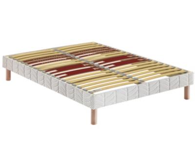 Sommier Confort Ferme Morphologique BULTEX, 14 cm, FIN DE SERIE