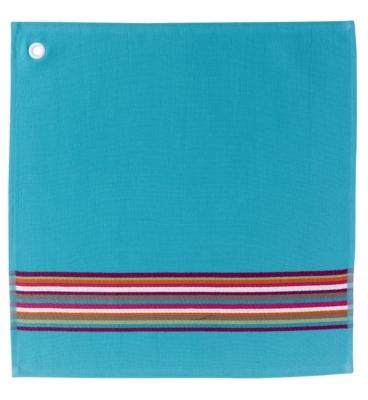 Essuie mains Bahia WINKLER, turquoise