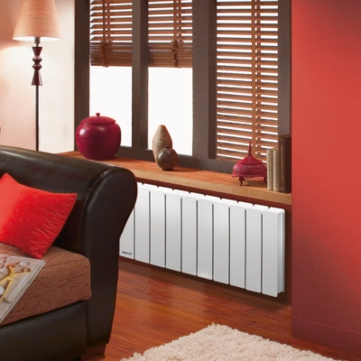 Radiateur Bellagio plinthe Smart  ECOControl NOIROT