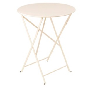 Table pliante ronde FERMOB Bistr...