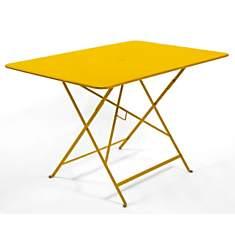 Tables de jardin jaune fermob - Camif