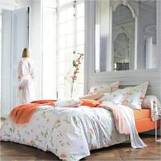 Drap housse percale Bucolique Orange  BL...